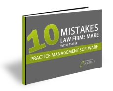 Top 10 Mistakes Attorneys Make with Their Practice Management Pr